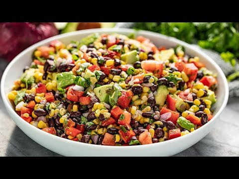 How to Make Simple Black Bean and Corn Salad