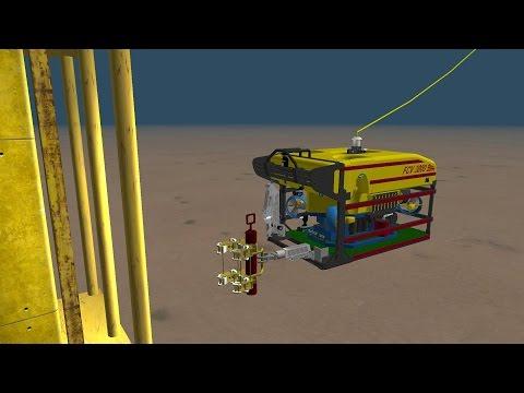 Fugro DeepData ROV Deployment