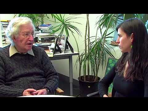 Noam Chomsky interview on his Philosophy (2010)