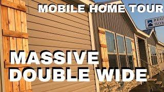 MASSIVE Mobile Home | The Grayson 32x80 Double Wide Winston Homebuilders | Mobile Home Masters