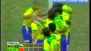 Download Video Argentina 2 Brasil 2 (2-4) Relato Juan Carlos Morales Copa America 2004 Los goles y penales MP3 3GP MP4