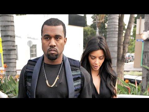 Kanye West is Already Annoyed with Kim Kardashian