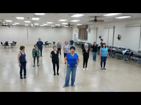 Yours If You Want it - line dance, tutorial