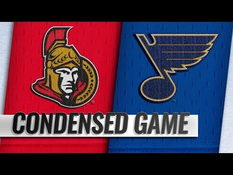 Ottawa Senators vs St. Louis Blues | Jan.19, 2019 | Game Highlights | NHL 2018/19 | Обзор матча