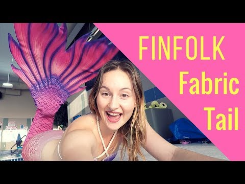 Finfolk Fabric Tail Unboxing - Part 1