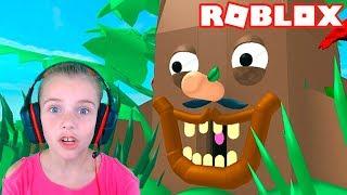 ПОБЕГ НА ДЕРЕВО в Roblox игра Climb Mr Tree Obby в Роблокс