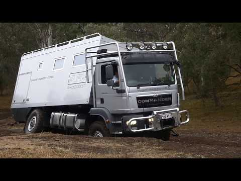SLRV Commander moguls - YouTube