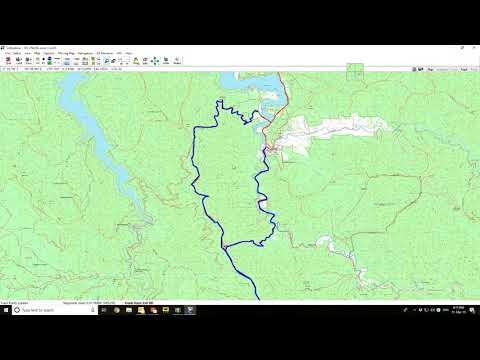 Ozi Explorer Tutorial Pt 5 - Daily Track Logs