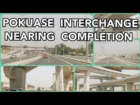 Pokuase Interchange Nearing Completion: Biggest Interchange in West Africa #Ghana #InterchangesinGh