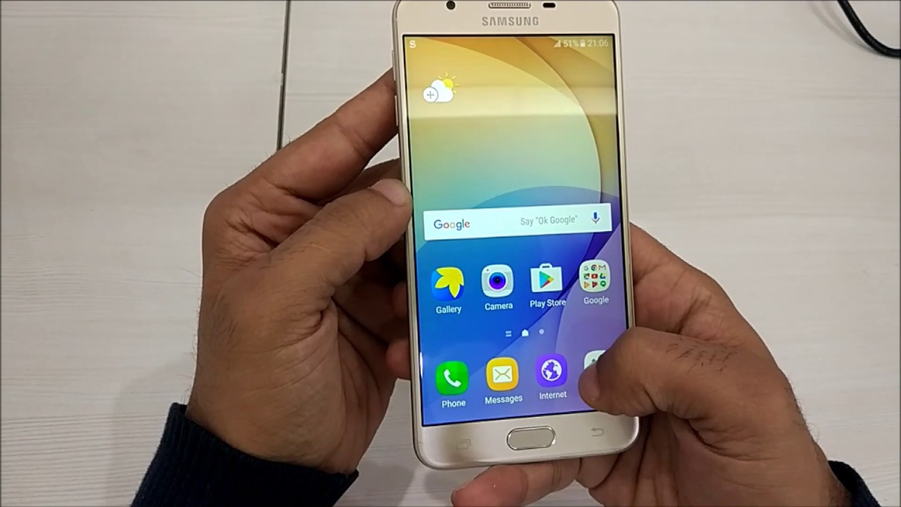 Samsung J7 Gold Test