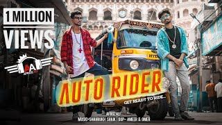 AUTO RIDER | RAP SONG | AFROZ ALI | JAYANTH   Music- Shahrukh Shaik  | HYDERABADI RAPPERS