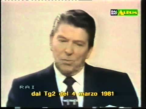 RONALD REAGAN INTERVIEWED BY WALTER CRONKITE.