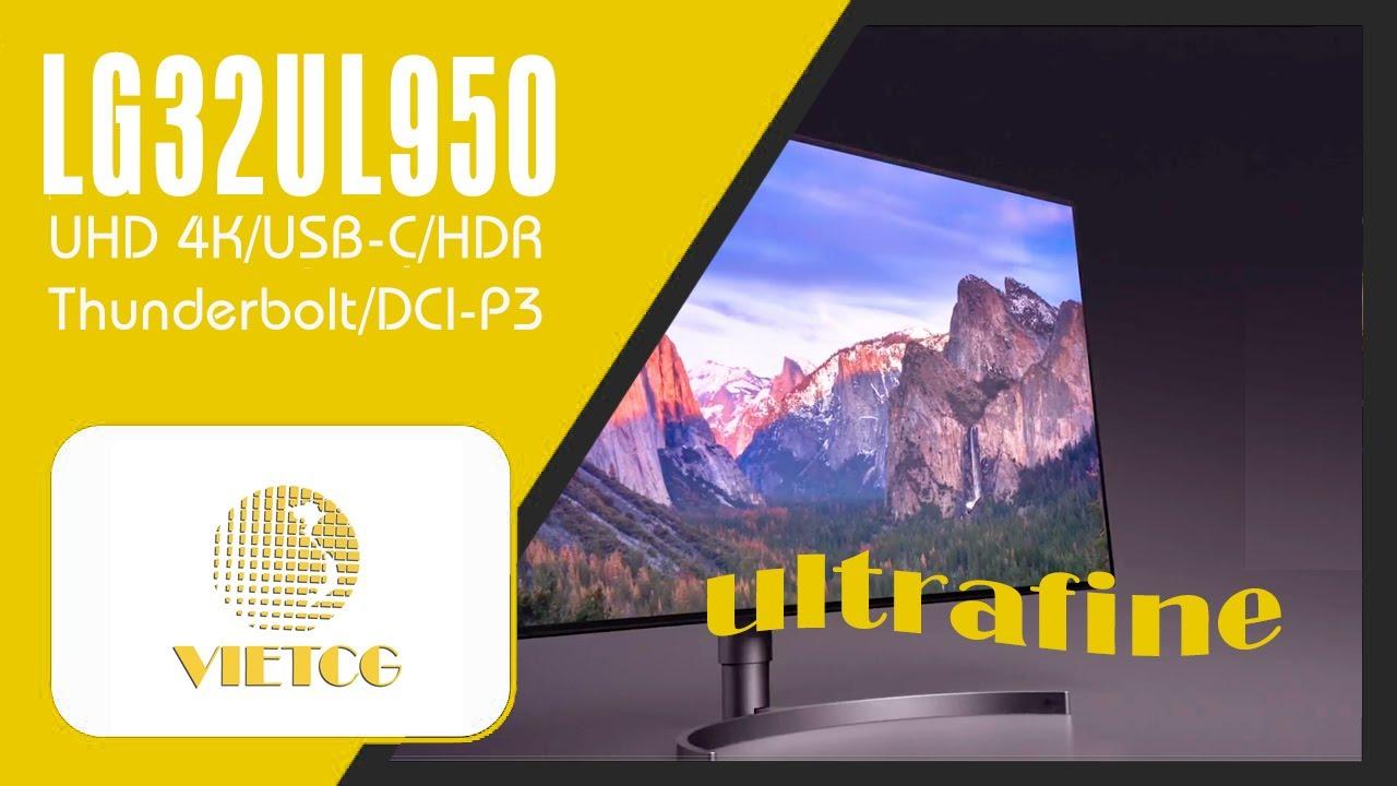 LG32UL950 – công nghệ hàng đầu về màu sắc.