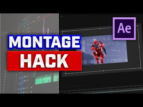 Montage Hack - After Effects Tutorial