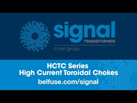 Signal Transformer HCTC Series High Current Toroidal Chokes Digital Datasheet