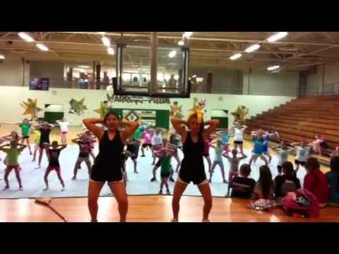 Gladden Middle School Tryouts 2012 Chant