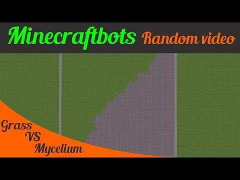 Minecraft Grass VS Mycelium