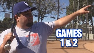 Benny Calls His Shot | Offseason Softball League | Games 1 & 2