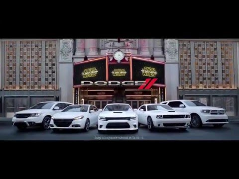 """DODGE """"Star Wars"""" Commercial - Los Angeles, Cerritos, Downey CA - New Years Sale - 800.549.1084"""