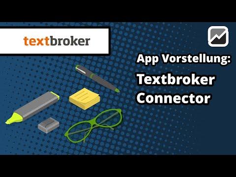 tricoma - App Textbroker Connector - SEO optimierte Webseiten- und Shoptexte