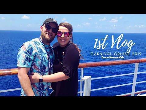 First Vlog Ever!!!!!!  Carnival Valor 2018