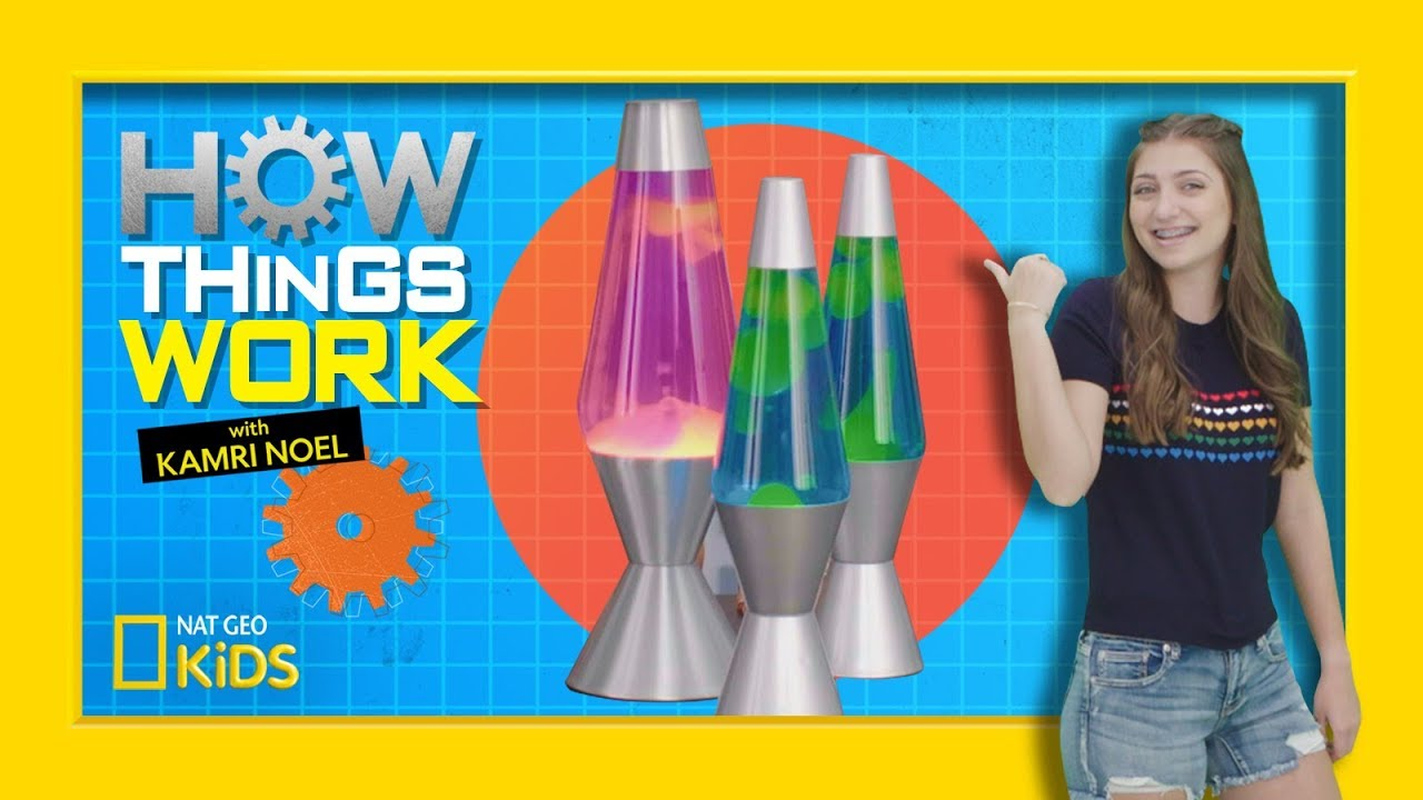 How Lava Lamps Work | How Things Work with Kamri Noel