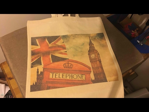 Printing on cotton canvas with sublimation and sublicotton s