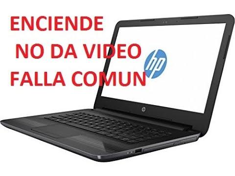 Laptop HP 14 series NO DA VIDEO-FALLA BIOS