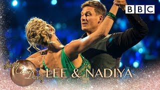Lee Ryan & Nadiya Bychkova dance the Waltz to Take It To The Limit by The Eagles - BBC Strictly 2018
