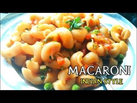 How to make macaroni masala at home in hindi