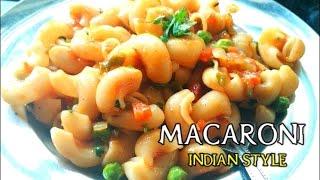 Indian Style Veg Macaroni Recipe(Hindi)   veg pasta   Indian Style Recipes   Do At Home