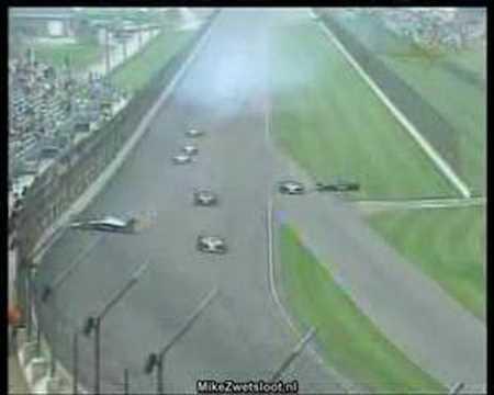 IRL 2007 - Indy 500 - Marco Andretti Crash