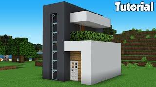 Minecraft: How to Build MrBeast's Modern House Tutorial (Easy) #33
