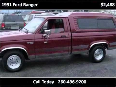 1991 ford ranger used cars fort wayne in youtube. Black Bedroom Furniture Sets. Home Design Ideas
