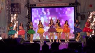 130901 [1/2] Girlish cover SNSD - Into The New World + Gee + PONPONPON + Beep Beep @Japan Festa 2013