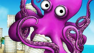 GIANT OCTOPUS EATS A CITY - Tasty Planet Forever Part 3 | Pungence