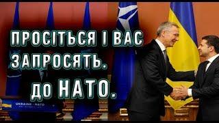 Україна іде в НАТО? Про ПДЧ, Порошенка, Зеленського і двері.