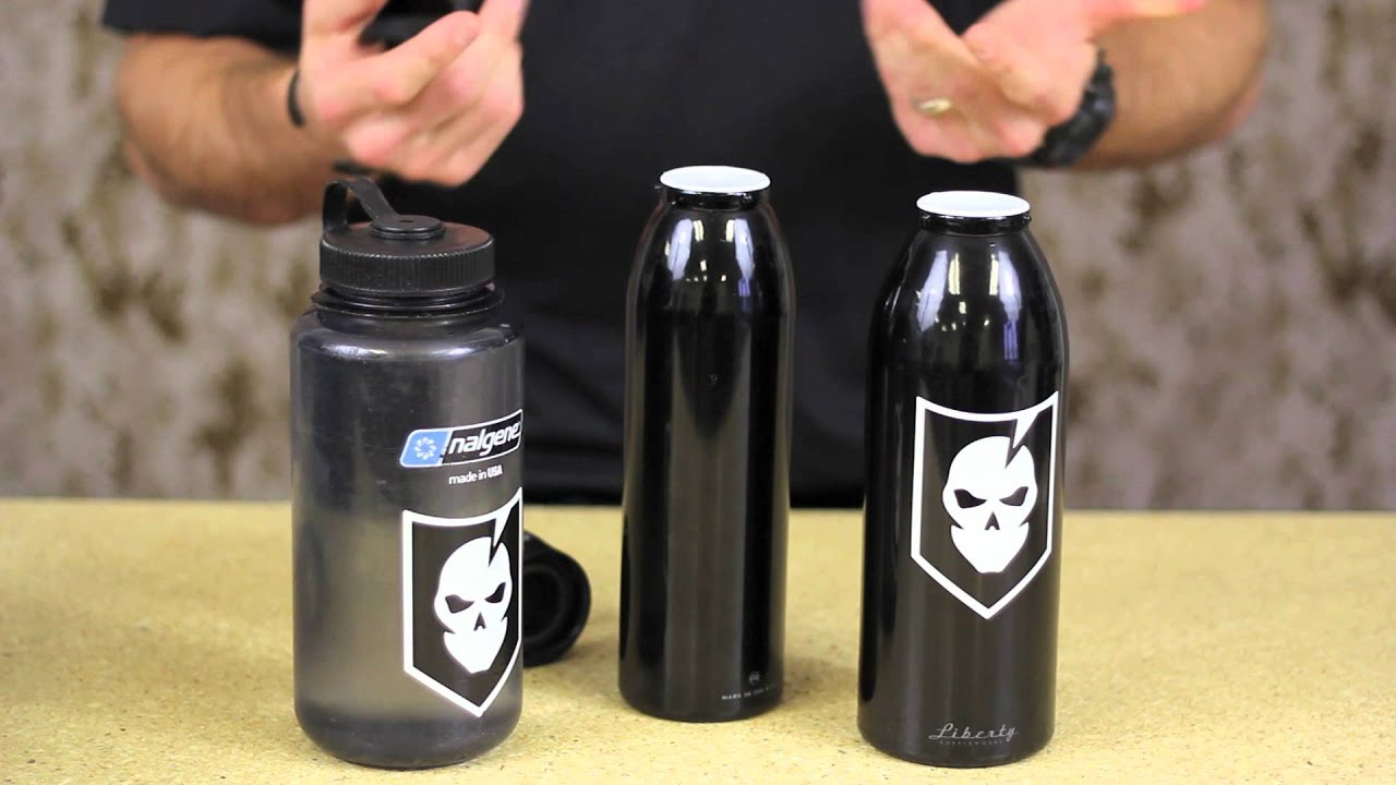 Liberty Bottles: An American Made Metal Bottle with a Simple Twist-Off Cap