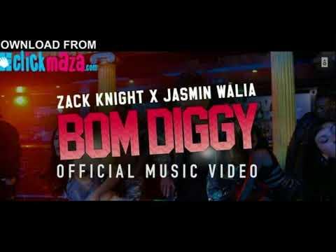 Zack Knight  Jasmin Walia   Bom Diggy Official Music Video Song