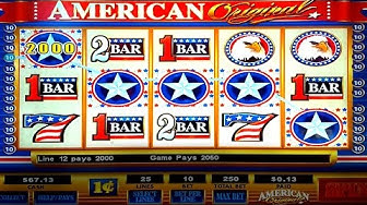 American Original Slot - AS IT HAPPENS 50 Free Spins Bonus!