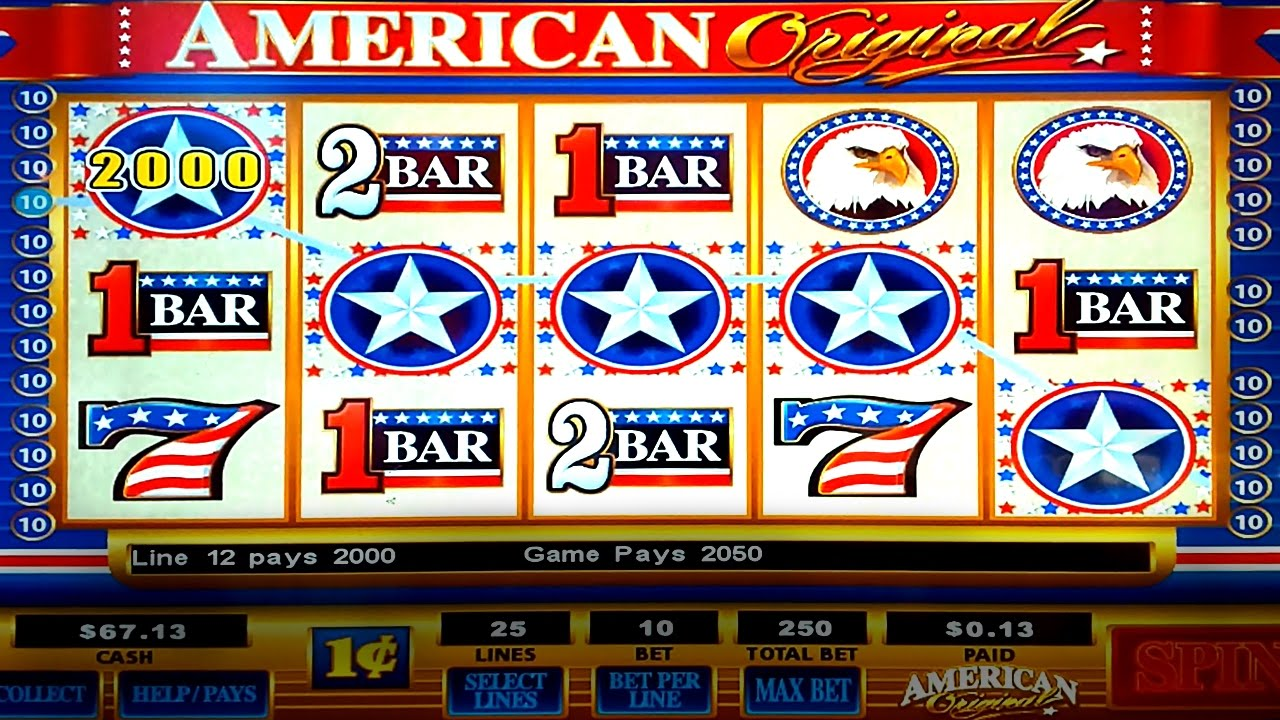 Play American Original Slot Machine Free Online