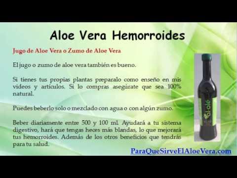 Aloe Vera Hemorroides - YouTube