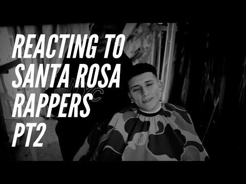 REACTING TO SANTA ROSA RAPPERS PT 2 (ft. OZ SUMMERS, SHYY291, RAMZ, ETC)