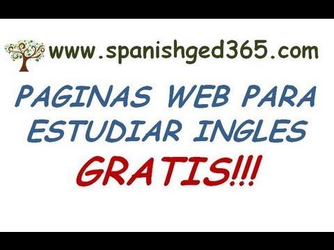 Paginas para aprender ingles GRATIS!!!! - YouTube