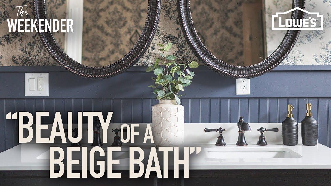 Beauty of a Beige Bathroom
