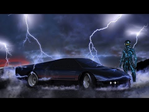 Donbor - Against the law (Retrowave video mix)