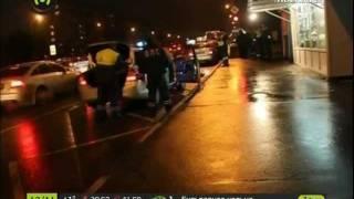 Автобус сбил людей у метро \
