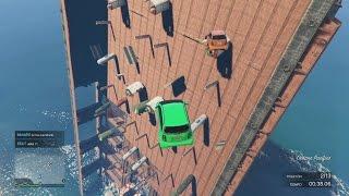 ESTO QUE ES?! SUPER RARO!!! - Gameplay GTA 5 Online Funny Moments (Carrera GTA V PS4)