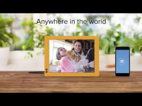 Nixplay Seed 7 Inch Wifi Digital Photo Frame Youtube