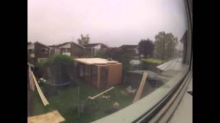 Vista Buildings Garden Office Time Lapse Via Gopro Hd Hero 2 Camera